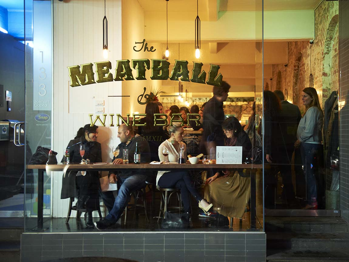 Meatball and Wine Bar, Melbourne, Victoria, Australia