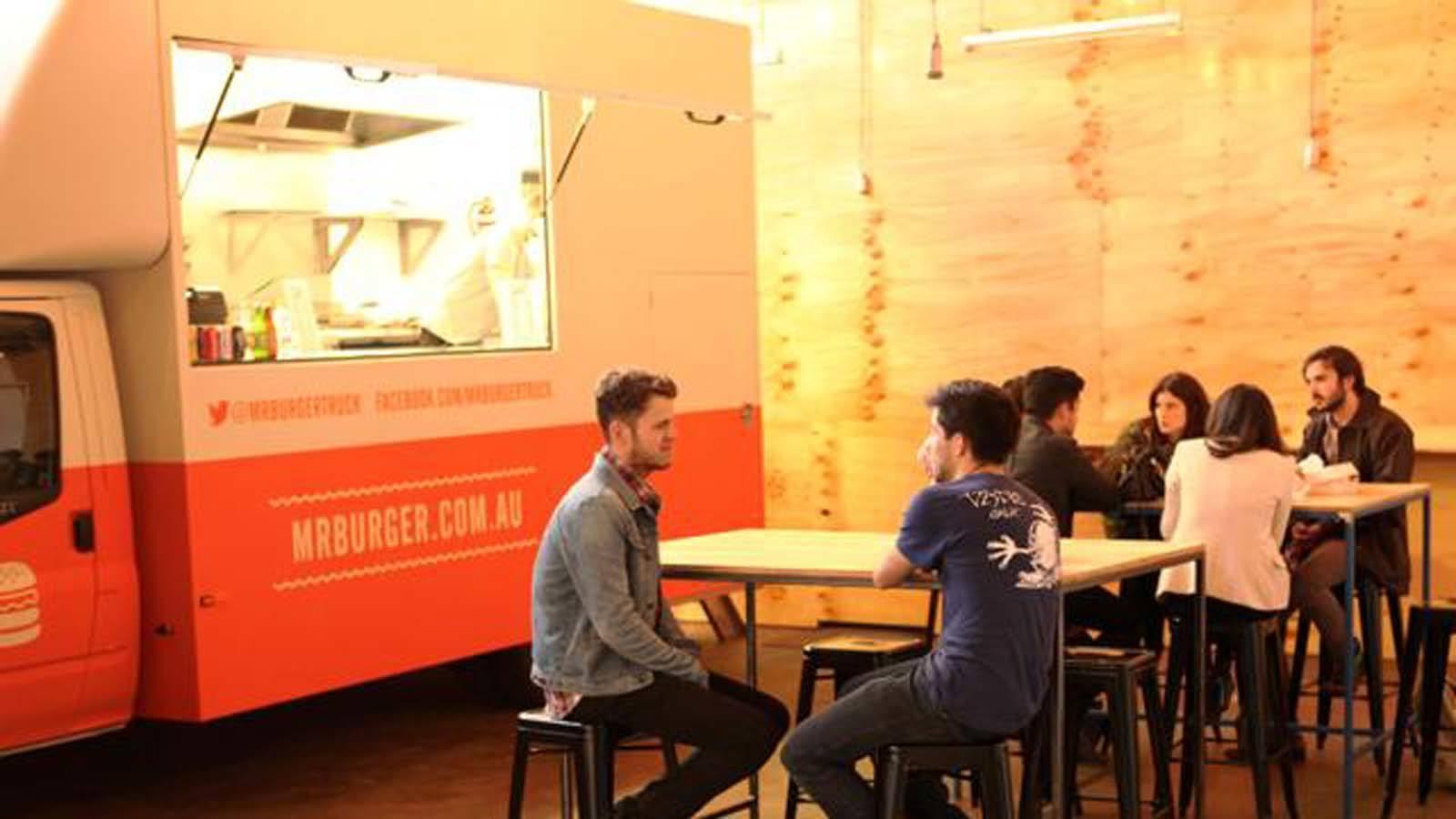 Mr Burger, Melbourne, Victoria, Australia
