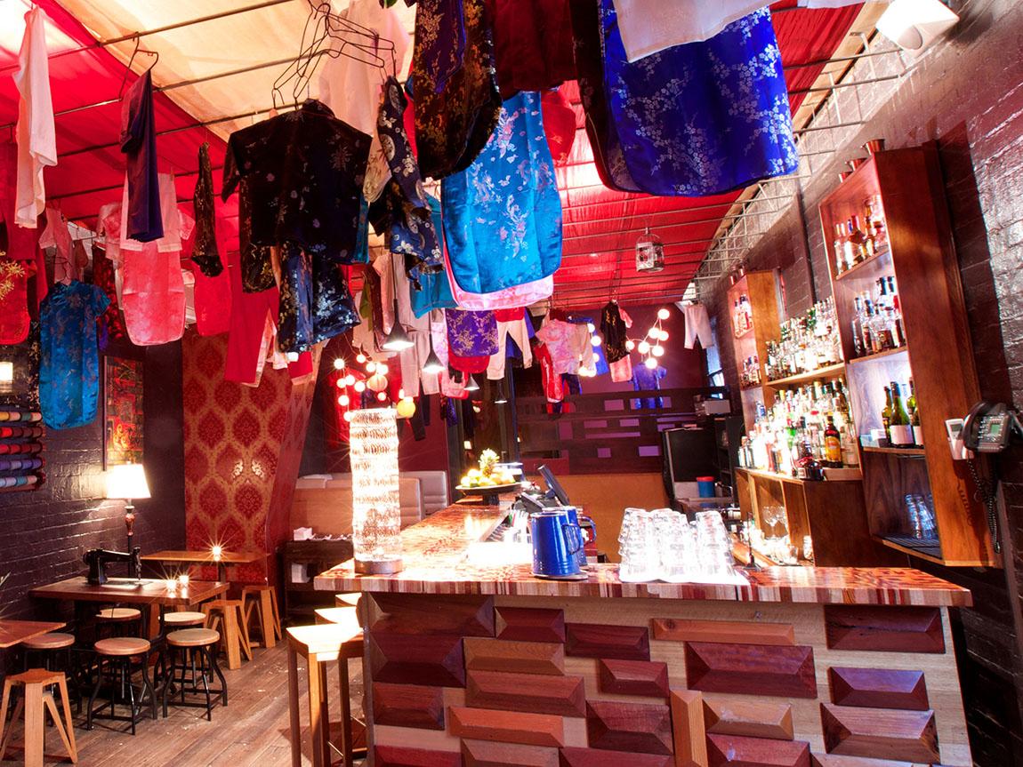Seamstress, cocktail bar, Melbourne, Victoria, Australia