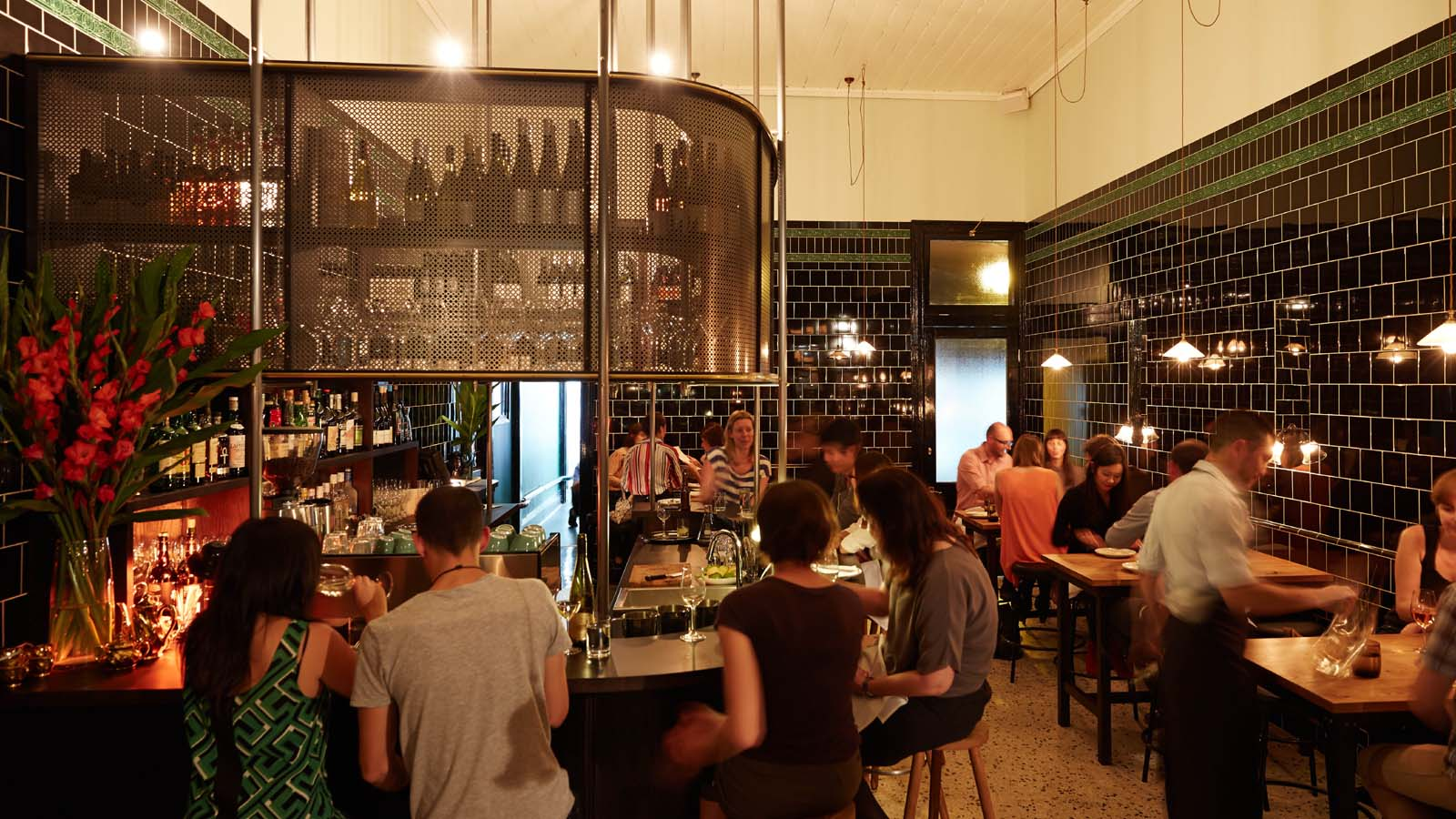 The Town Mouse interior, Carlton, Melbourne, Victoria, Australia