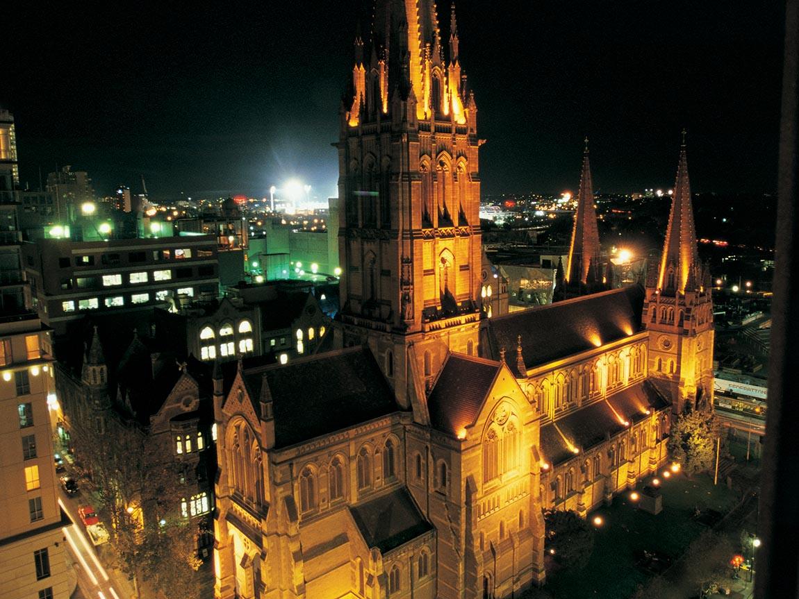 St Paul's Cathedral, Melbourne, Victoria, Australia