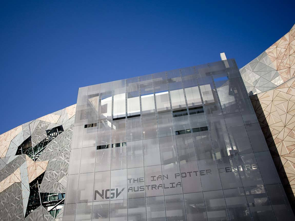 The Ian Potter Centre: NGV Australia, Federation Square, Melbourne, Victoria, Australia
