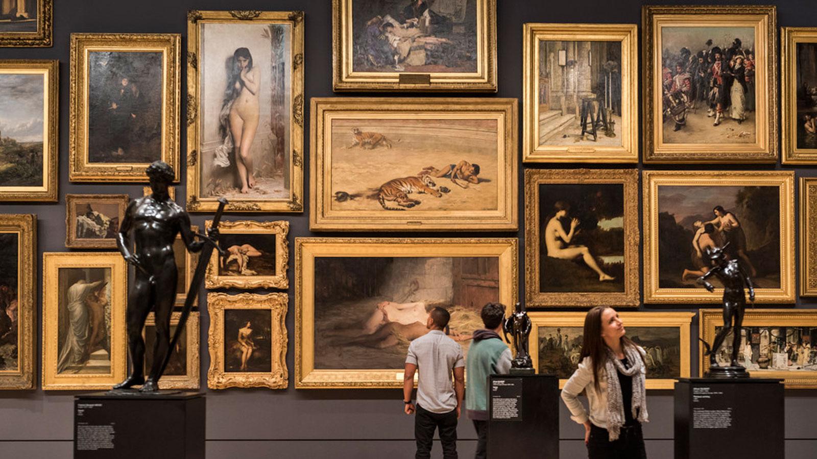 NGV International, National Gallery of Victoria, Melbourne, Victoria, Australia