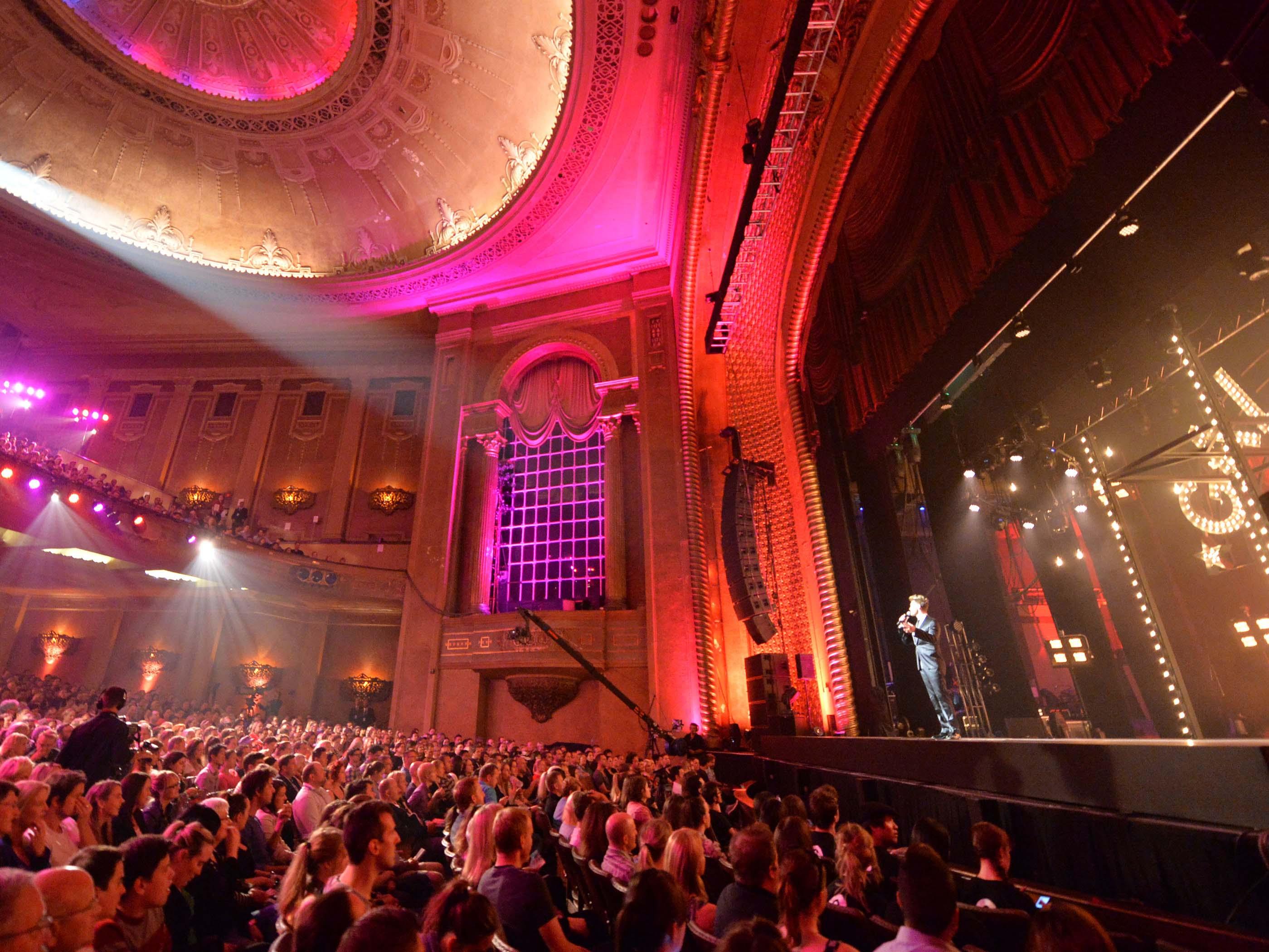 Melbourne International Comedy Festival, Palais Theatre, St Kilda, Melbourne, Victoria, Australia. Photo: Jim Lee