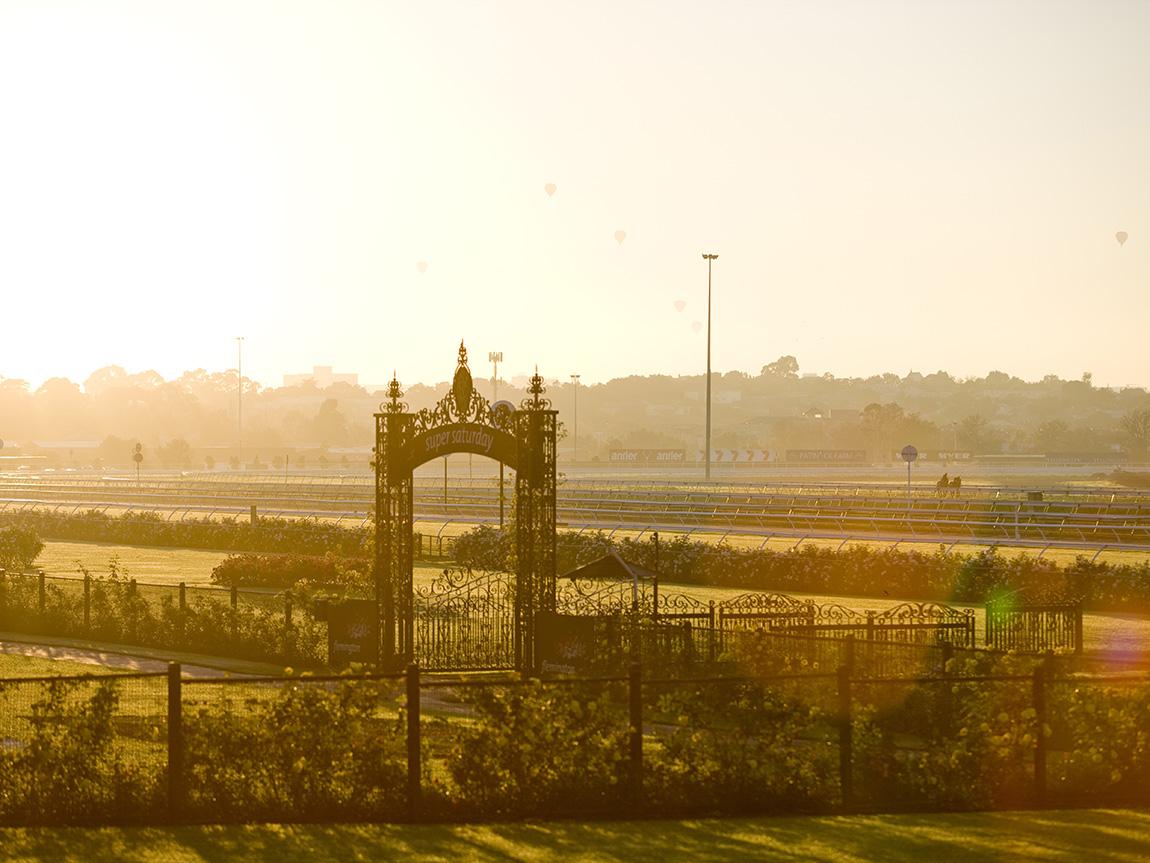 Flemington Racecourse, Melbourne, Victoria, Australia