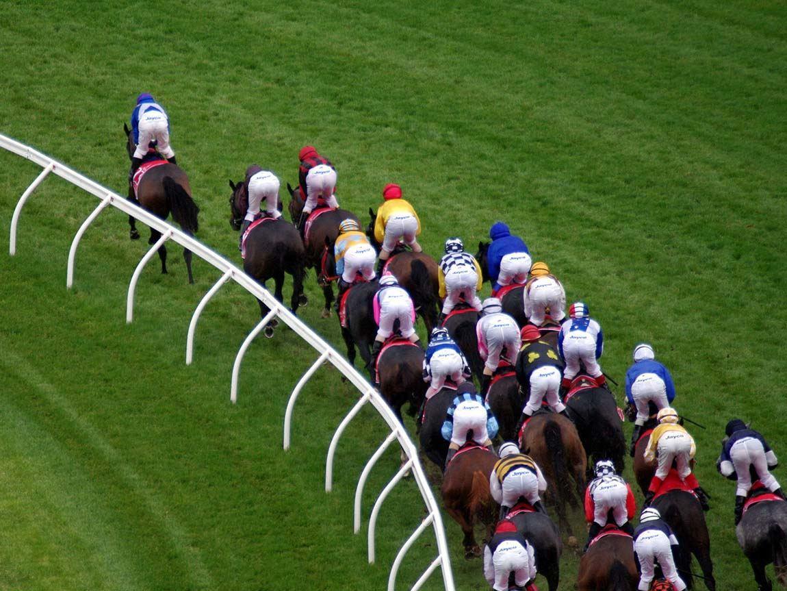 horse racing at