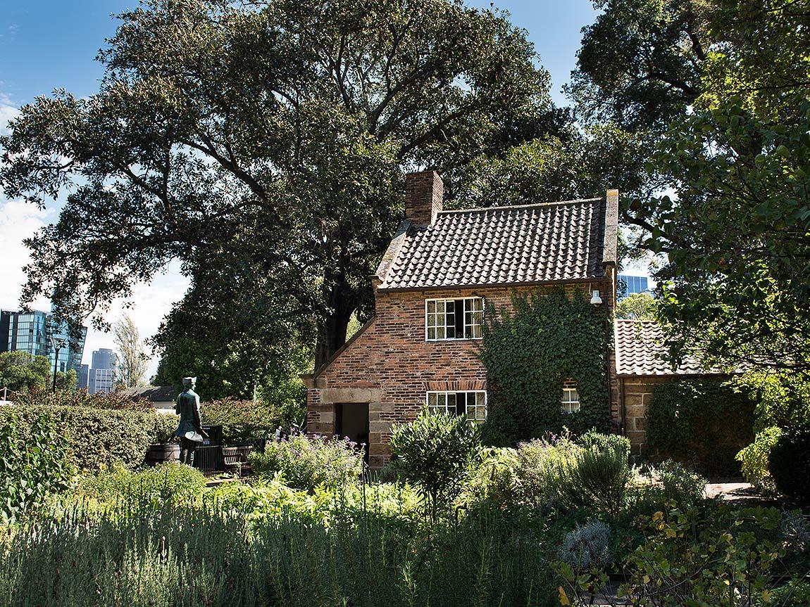 Captain Cook's Cottage, Fitzroy Gardens, Melbourne, Victoria, Australia