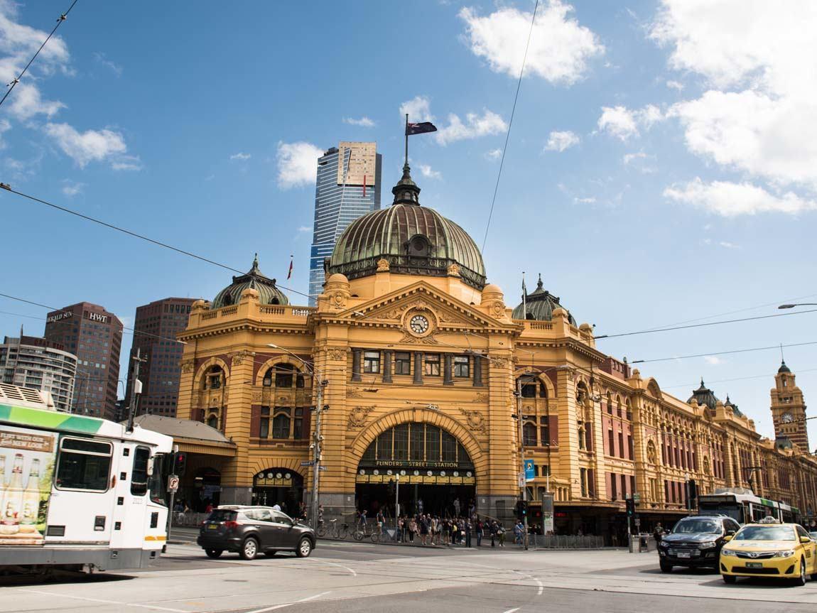 Flinders Street Station, Melbourne, Victoria, Australia
