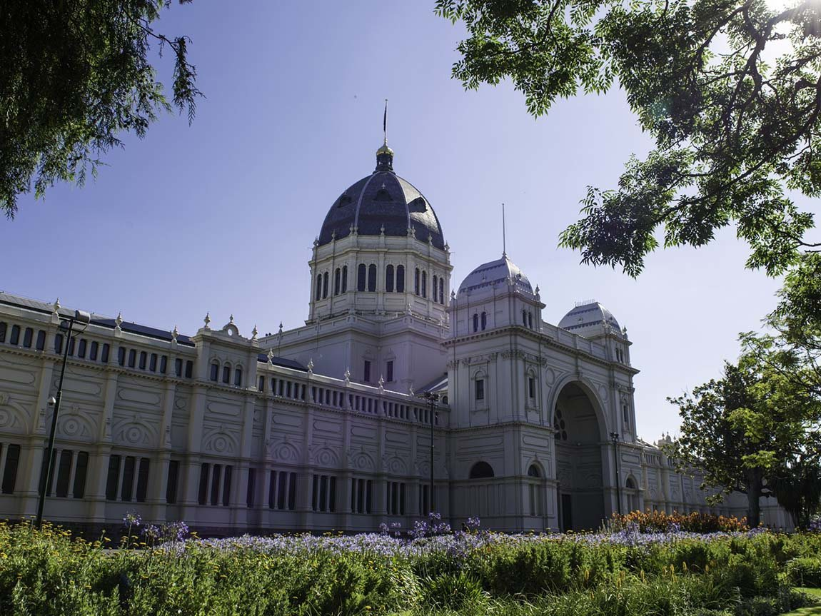 Royal Exhibition Building, Carlton Gardens, Melbourne, Victoria, Australia