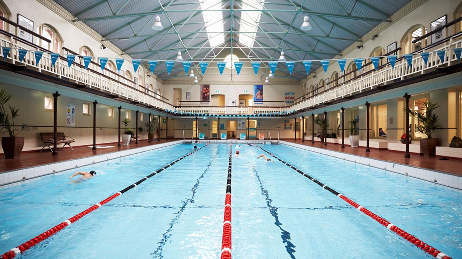 Melbourne City Baths, Melbourne, Victoria, Australia
