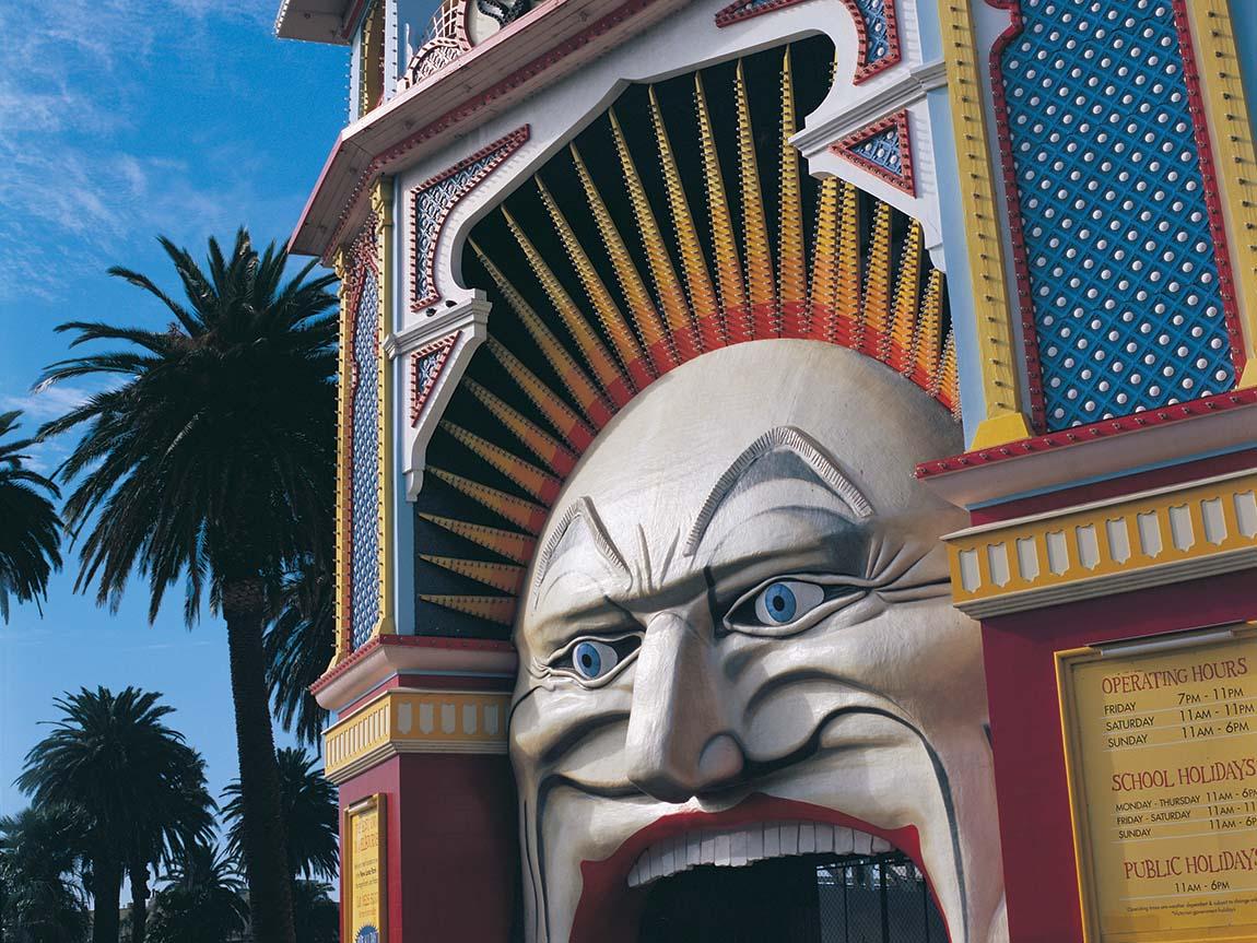 Luna Park, St Kilda, Melbourne, Victoria, Australia