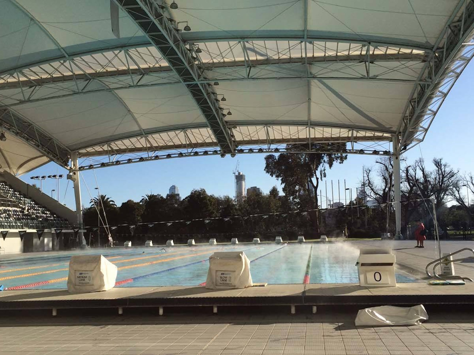 Melbourne Sports and Aquatic Centre, Albert Park, Victoria, Australia