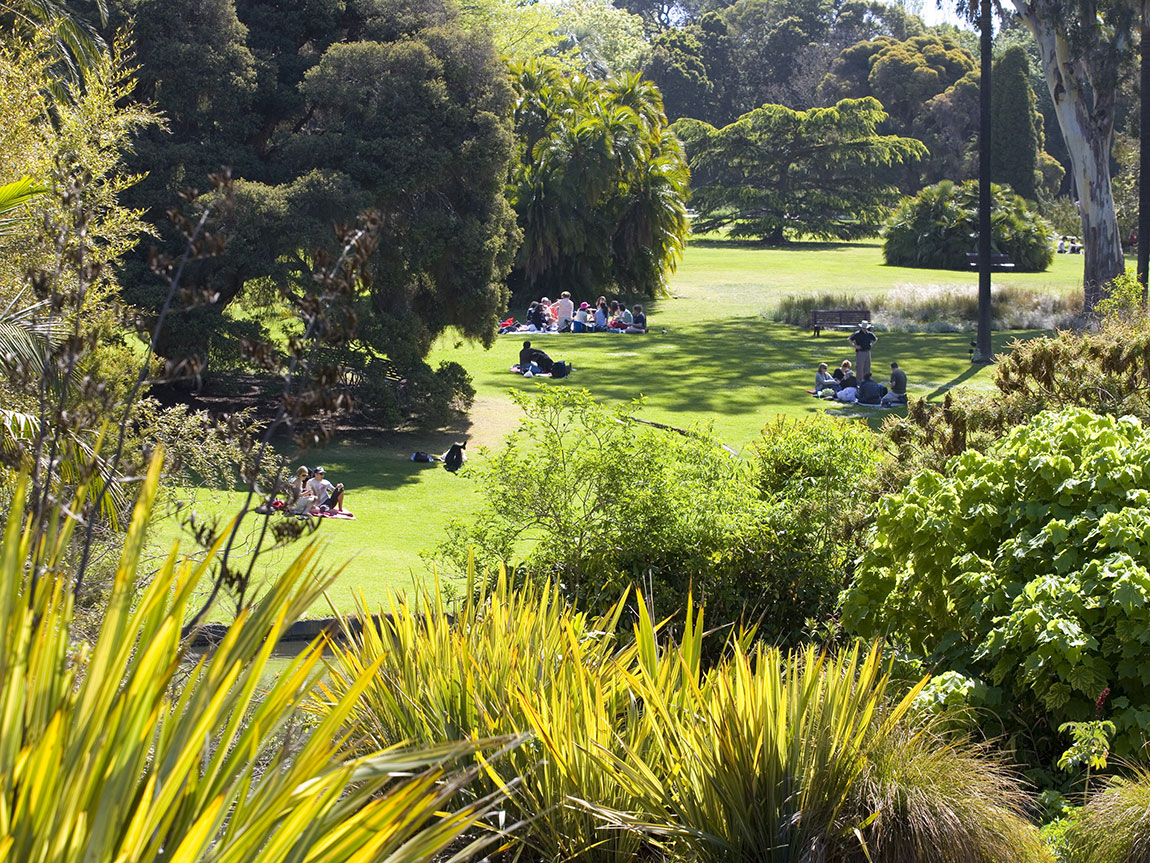 Botanical Gardens, Melbourne, Victoria, Australia