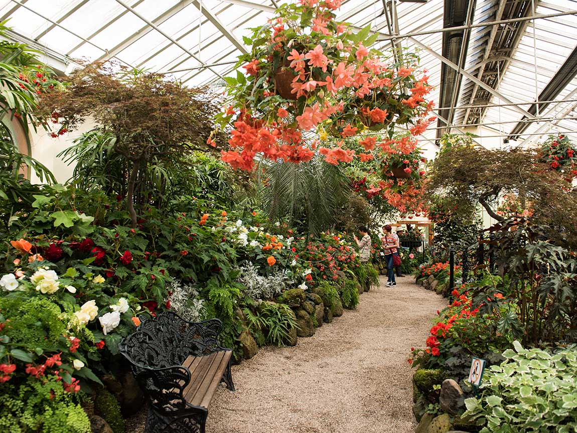 Fitzroy Gardens Conservatory, Melbourne, Victoria, Australia
