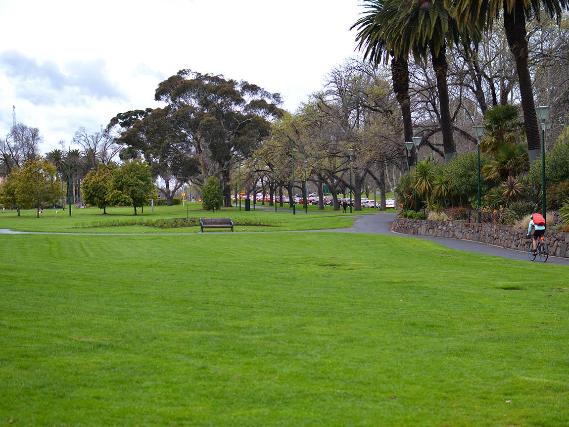 Queen Victoria Gardens, Melbourne, Victoria, Australia