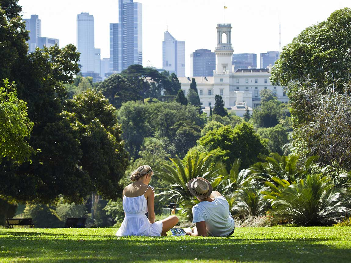 Royal Botanic Gardens, Melbourne, Victoria, Australia. Image: Roberto Seba