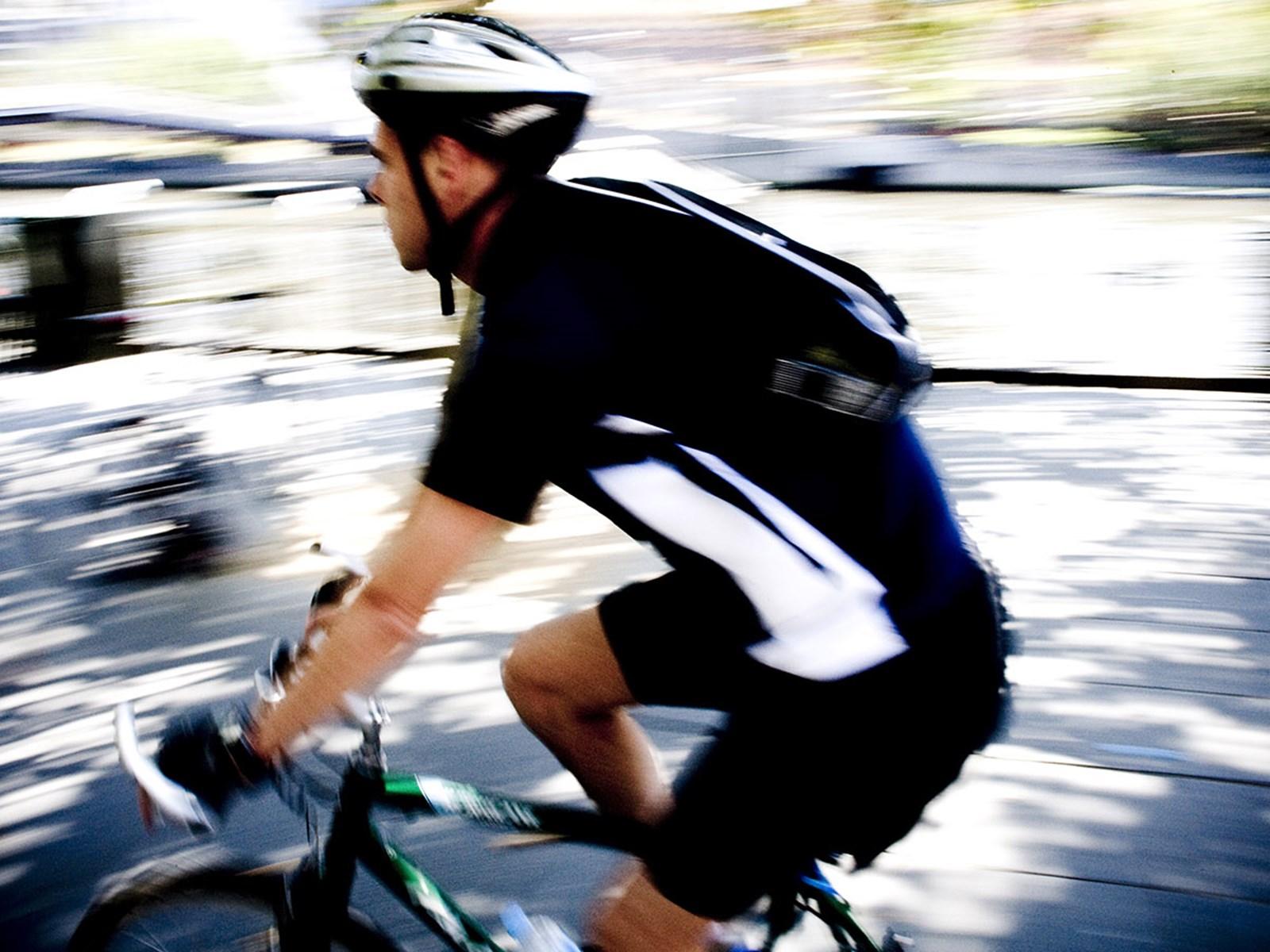 Cycling, Melbourne, Victoria, Australia