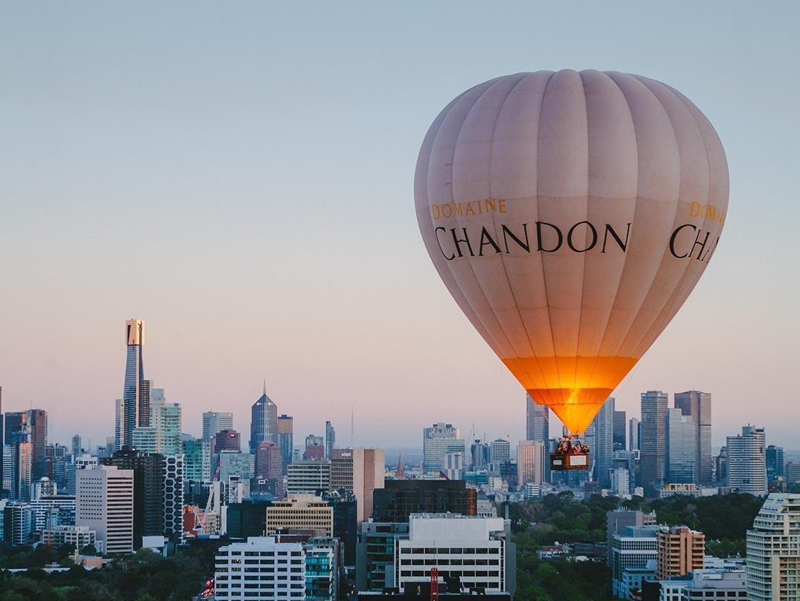 Ballooning And Scenic Flights Melbourne Victoria Australia