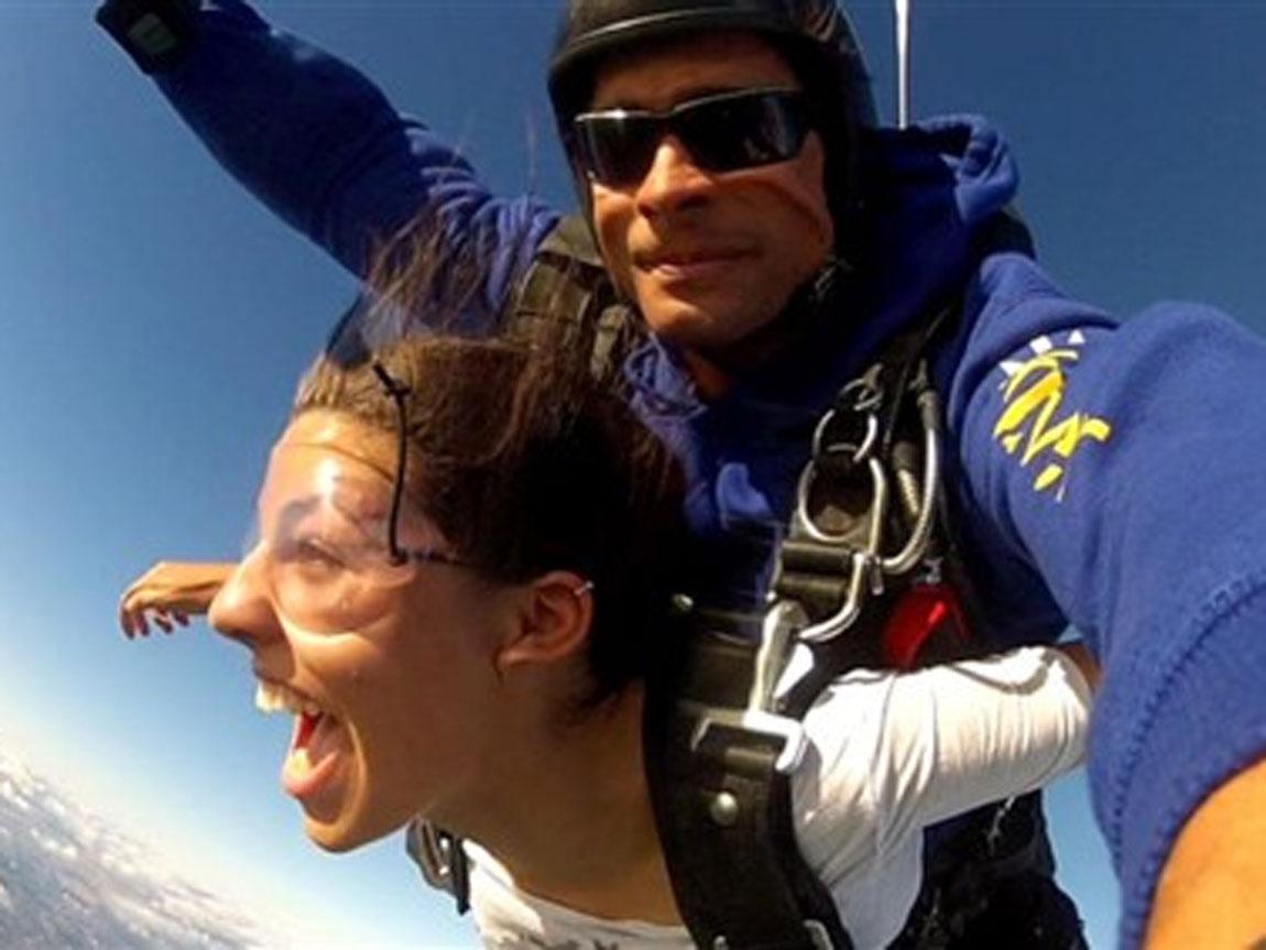 Tandem skydive, Melbourne