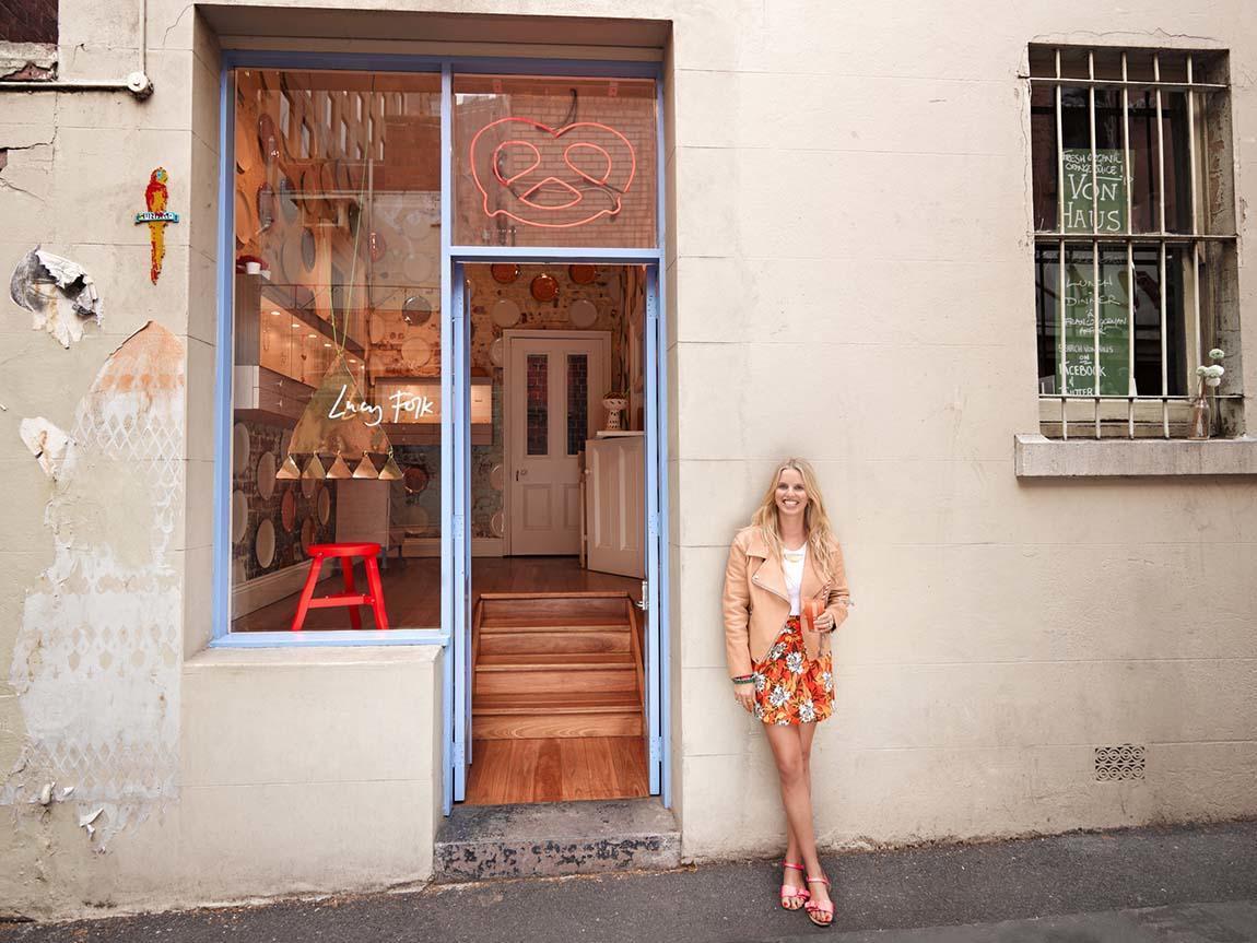 Lucy Folk, Crossley Street, Melbourne, Victoria, Australia