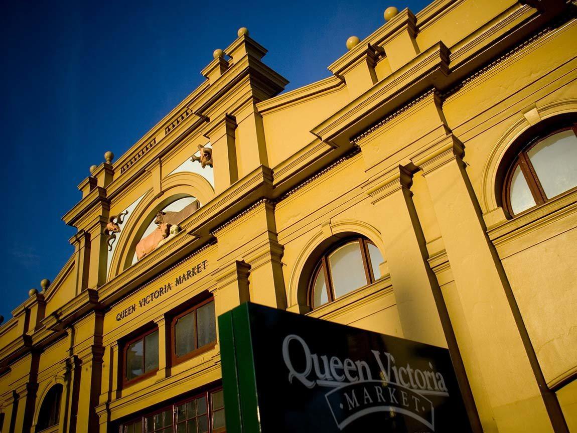 Exterior of Queen Victoria Market, Melbourne, Victoria, Australia