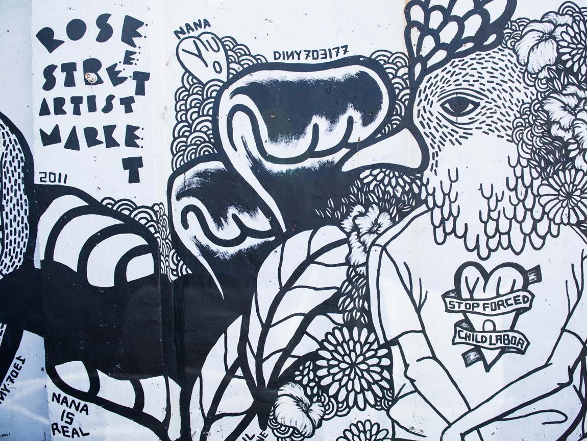 Rose Street Artists Market, Fitzroy, Melbourne, Victoria, Australia