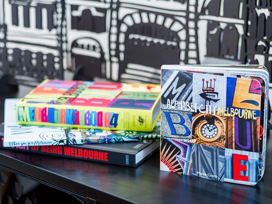 Books at Melbourne Style, Melbourne, Victoria, Australia. Phot: Roberto Seba