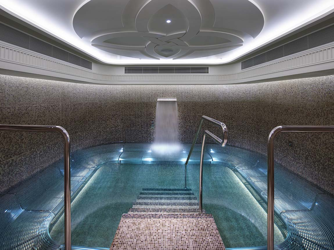 Female pool at Crown Spa, Melbourne, Victoria, Australia