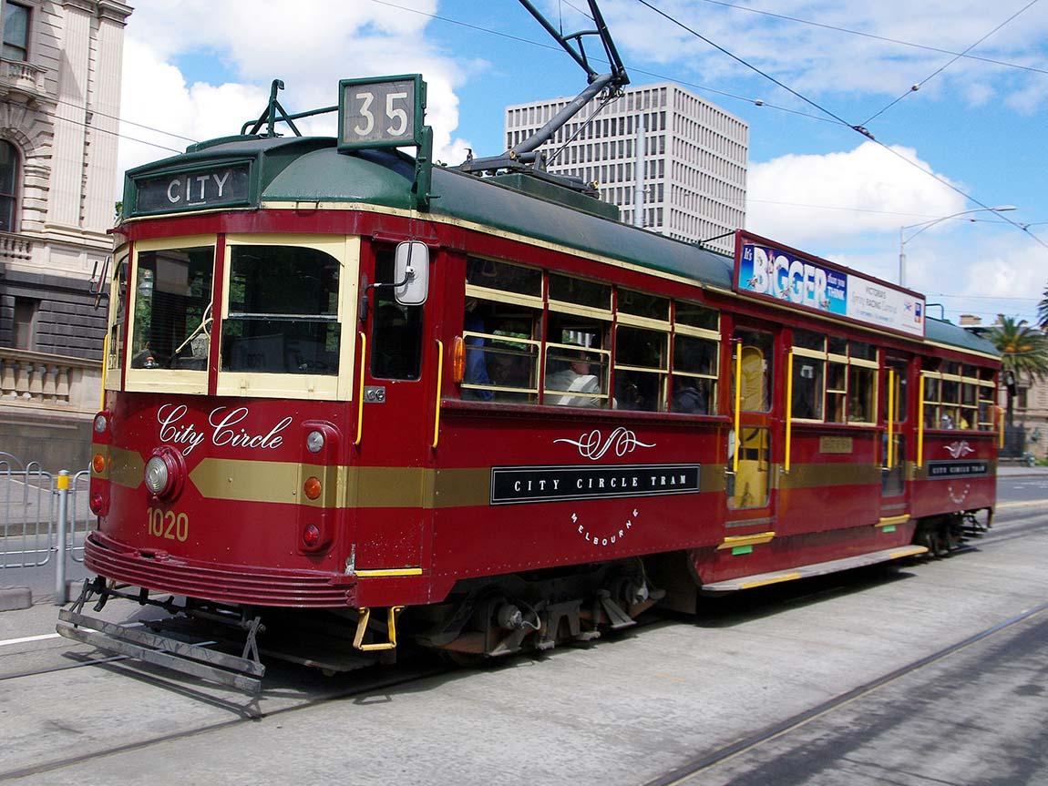 City Circle Tram, Melbourne, Victoria, Australia