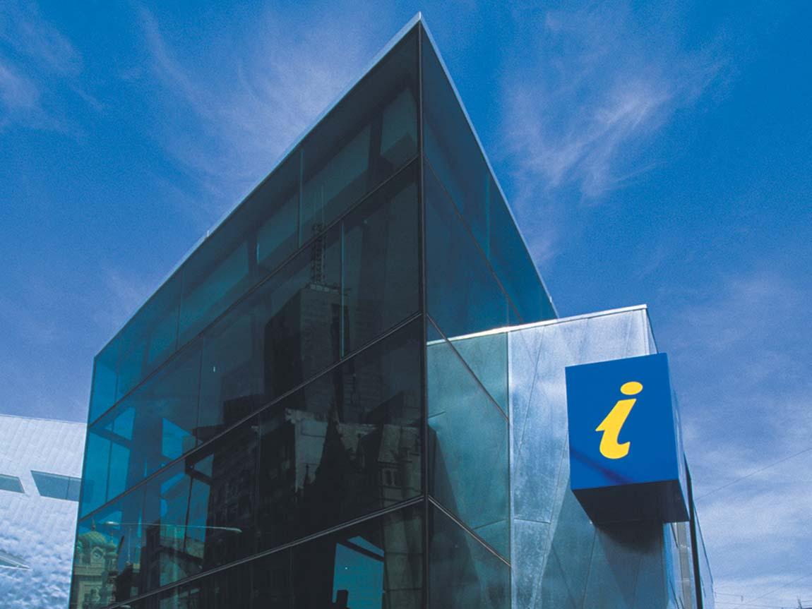 Visitor Information Centre, Federation Square, Melbourne, Victoria, Australia