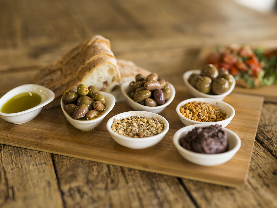 Dates and olives in Melbourne