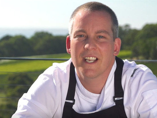 Stuart Deller, Chef at Port Phillip Estate winery, Mornington Peninsula, Victoria