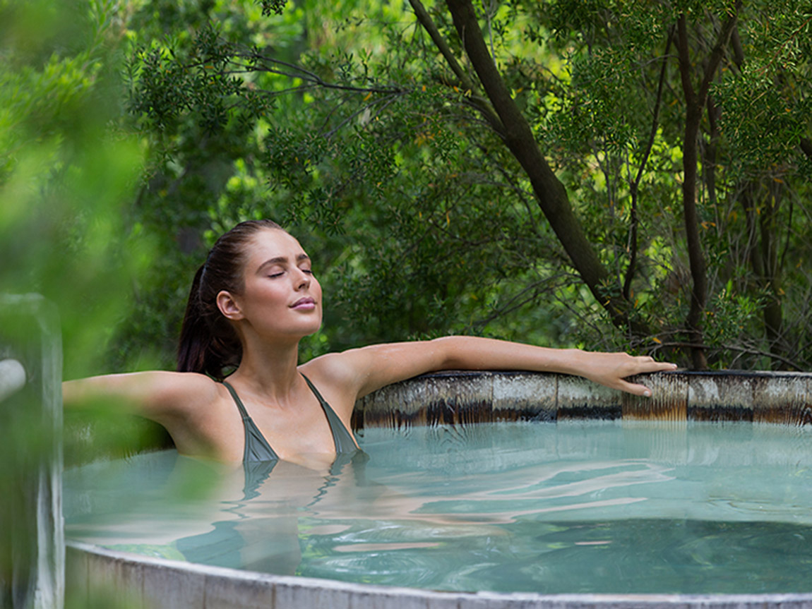 Peninsula Hot Springs, Mornington Pensinula, Victoria, Australia