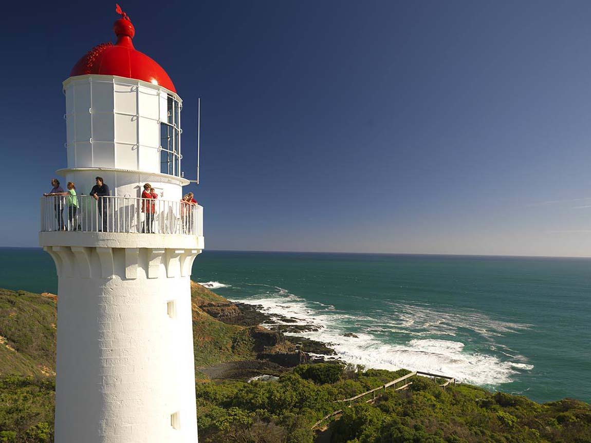 Cape Schanck Lighthouse, Mornington Peninsula, Victoria, Australia