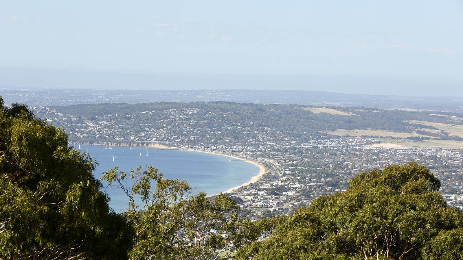 Arthurs Seat Lookout, Mornington Peninsula, Victoria, Australia