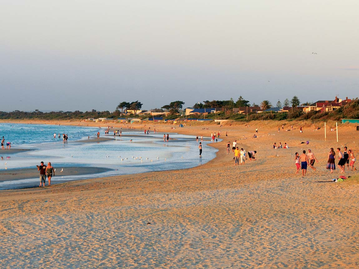 Frankston Beach, Mornington Peninsula, Victoria, Australia