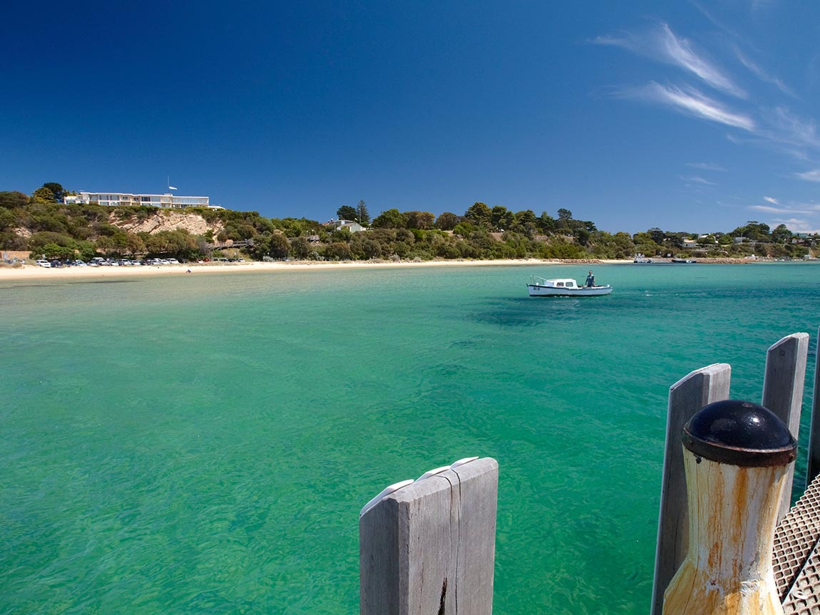 View from Sorrento Pier, Mornington Peninsula, Victoria, Australia