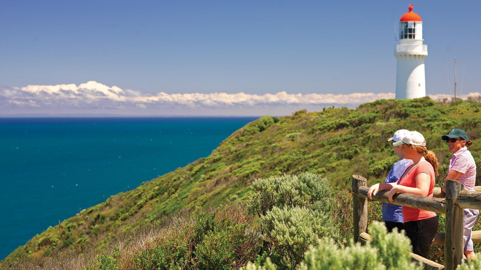 Cape Schanck Lighthouse, Mornington Peninsula, Victoria, Australia