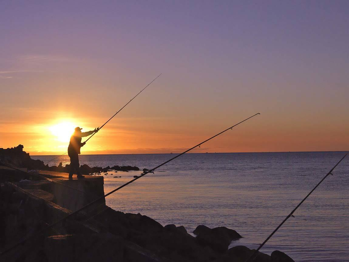Fishing, Mornington Peninsula, Victoria, Australia