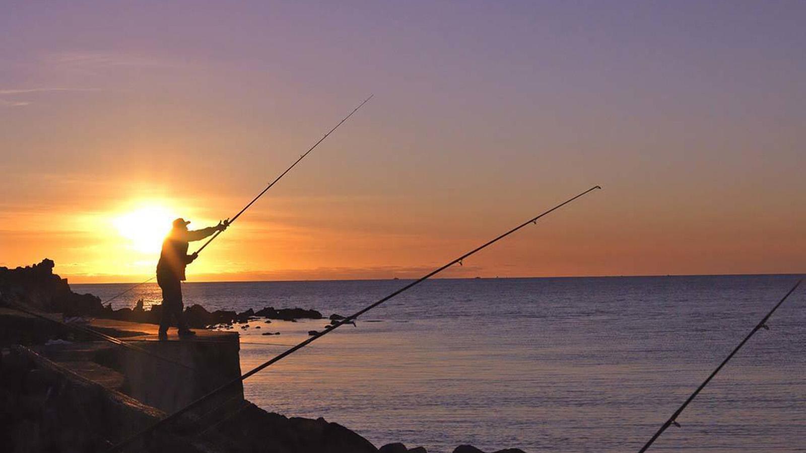 Fishing, Mornington Peninsula, Victoria, Australia