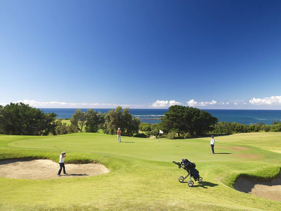 The Flinders Golf Club, Mornington Peninsula, Victoria, Australia