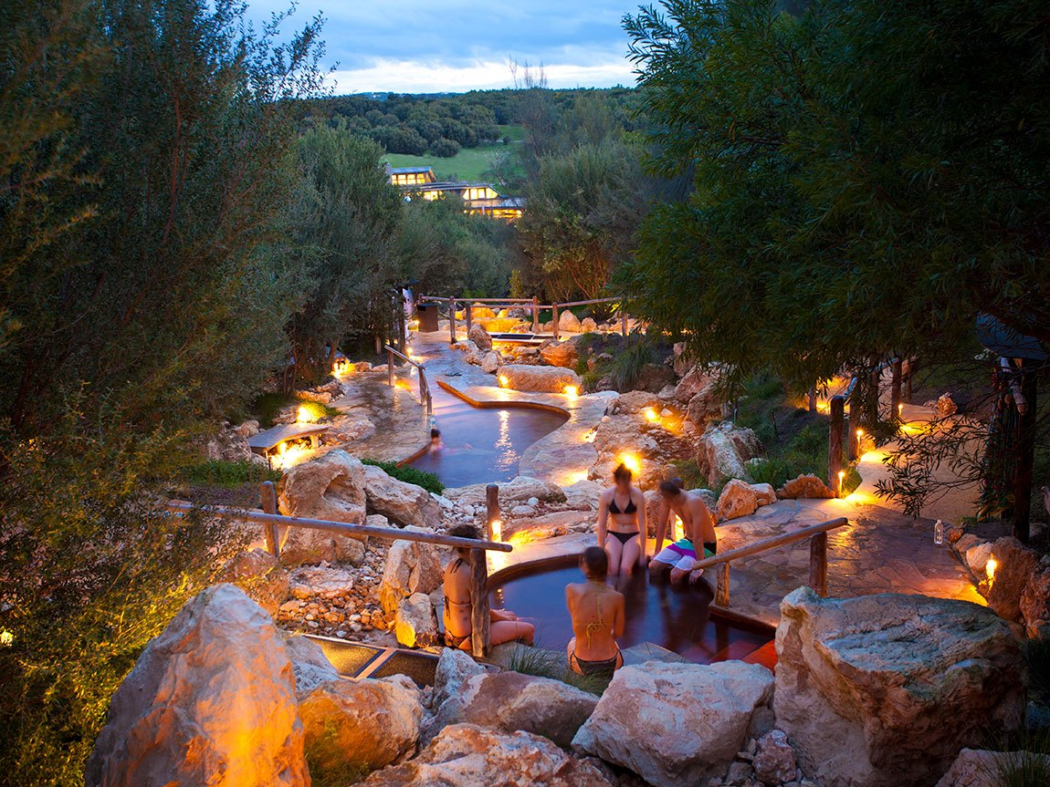Peninsula Hot Springs, Mornington Peninsula, Victoria, Australia