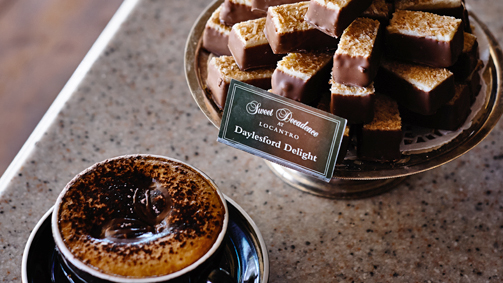 Sweet Decadence at Locantro, Daylesford, Daylesford and the Macedon Ranges, Victoria, Australia