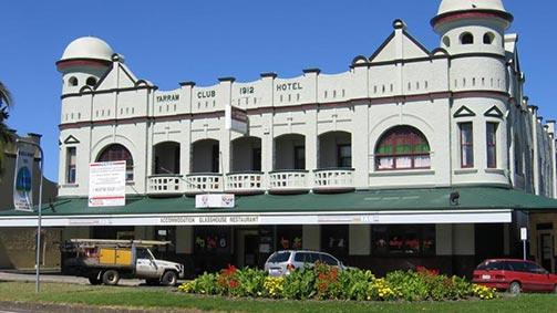 Yarram Club Hotel, Gippsland, Victoria, Australia