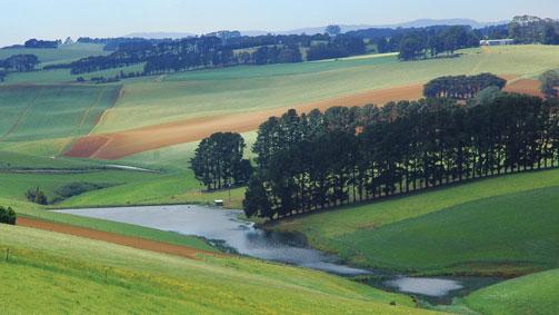 Heritage and Hills, Gippsland, Victoria, Australia