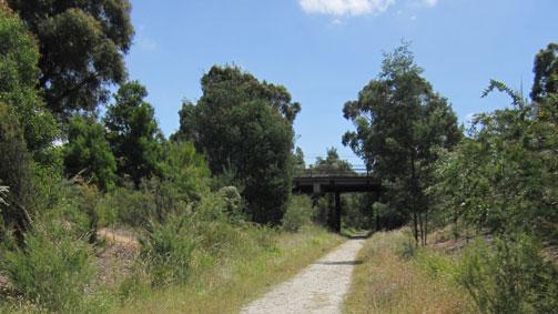 Moe to Yallourn, Gippsland, Victoria, Australia