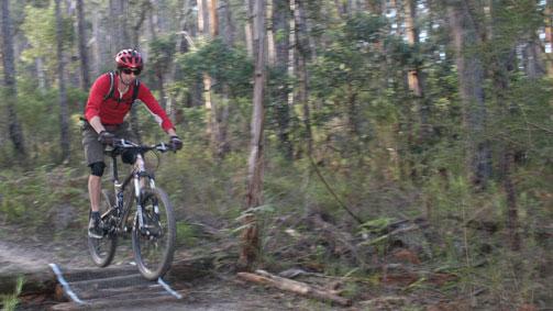 Nowa Nowa Mountain Bike Park, Gippsland, Victoria, Australia