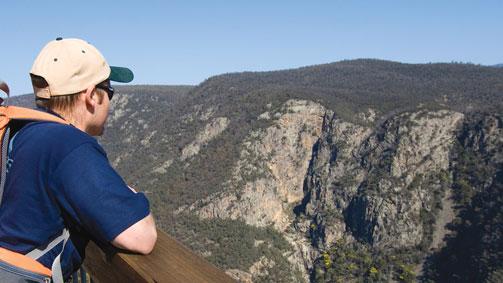 Little River Gorge, Gippsland, Victoria, Australia