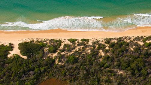 Loughlins Beach to 90 Mile Beach, Gippsland, Victoria, Australia