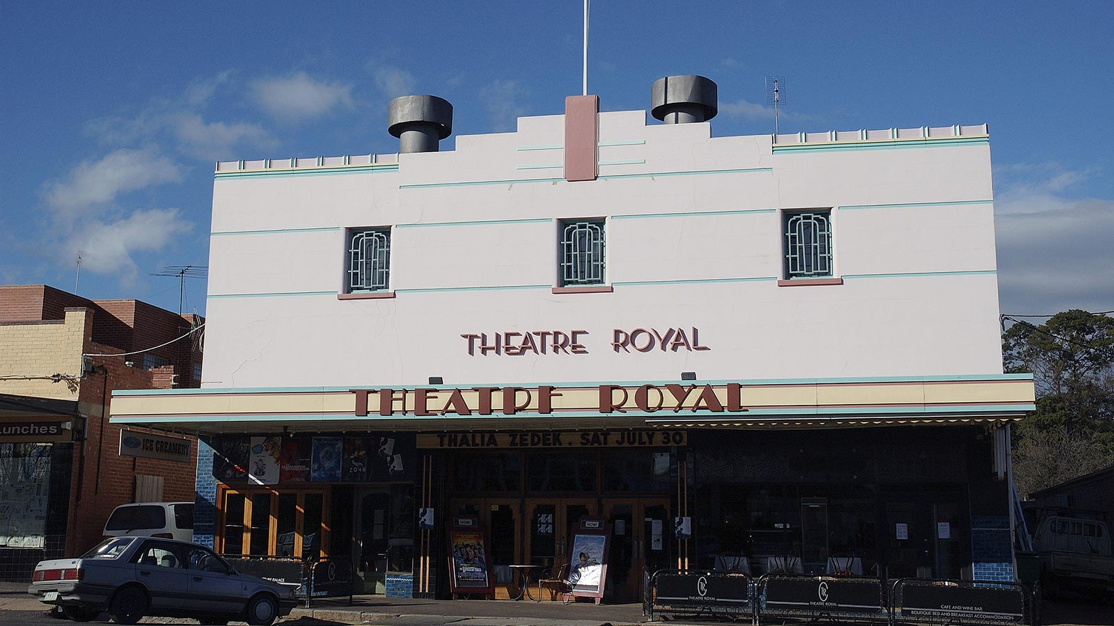 Theatre Royal, Castlemaine, Goldfields, Victoria, Australia